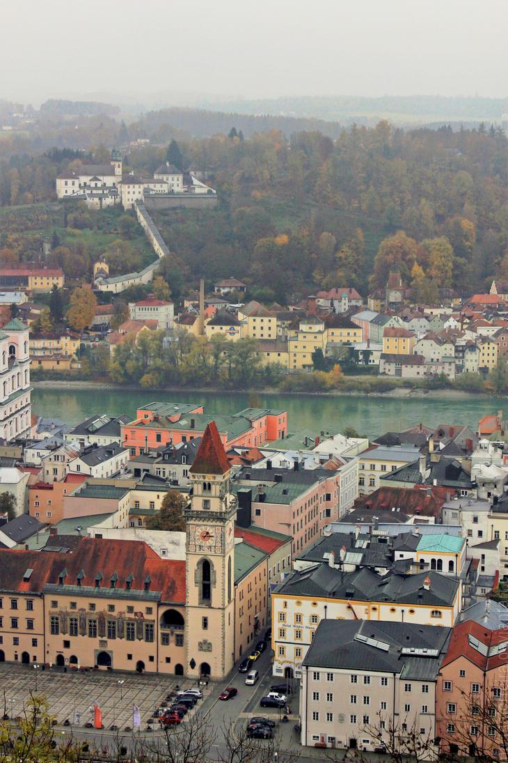 Uma visao de Passau by marinaferreira