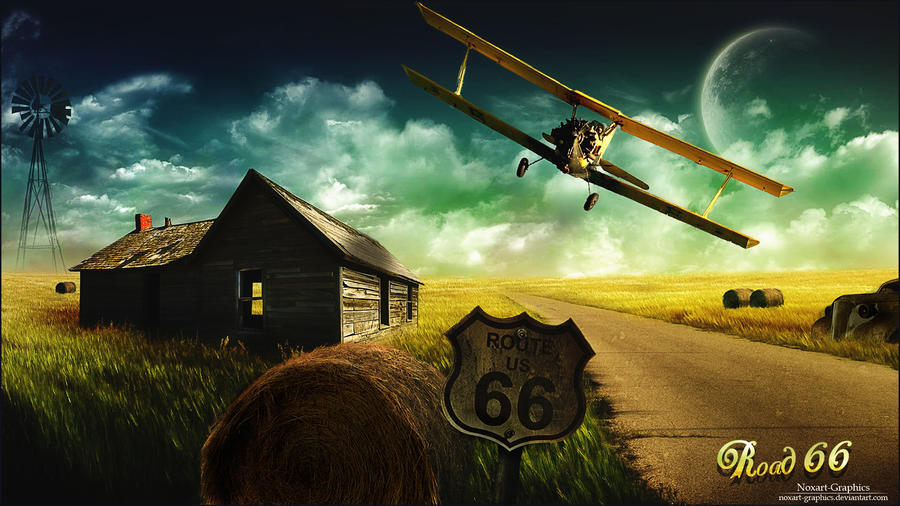 Road 66 by Noxart-graphics