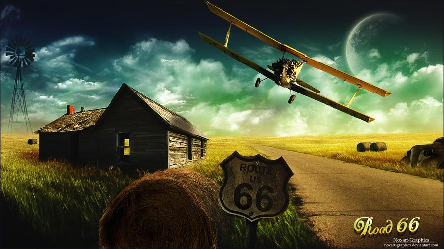 Road 66 by Noxart-graphics
