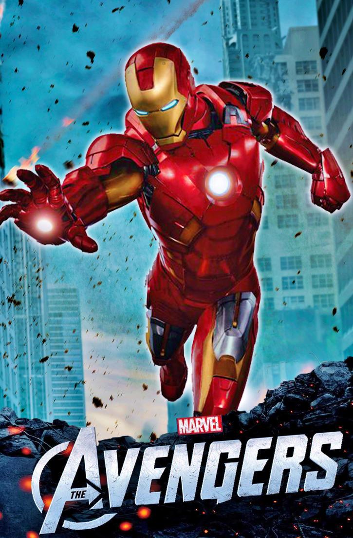 The Avengers (Iron-Man Poster) by StephenCanlas on DeviantArt