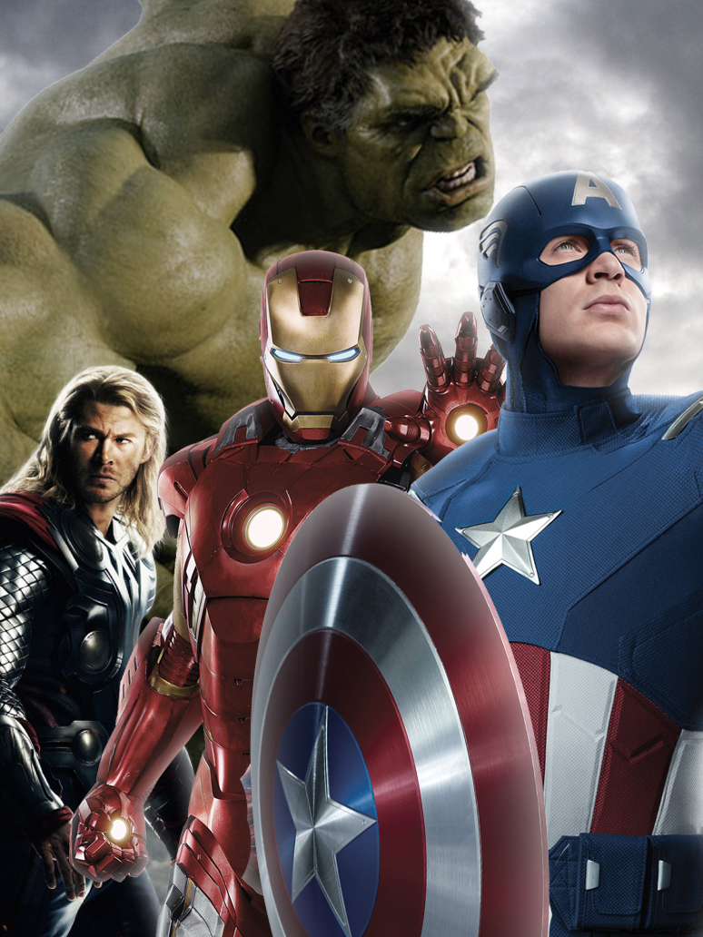 Wallpaper iphone avengers - The Avengers Ipod Touch Iphone Wallpaper By Stephencanlas