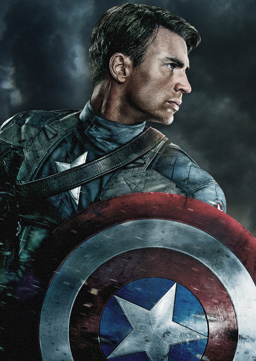 Captain America The First Avenger Ipod Wallpaper By Stephencanlas