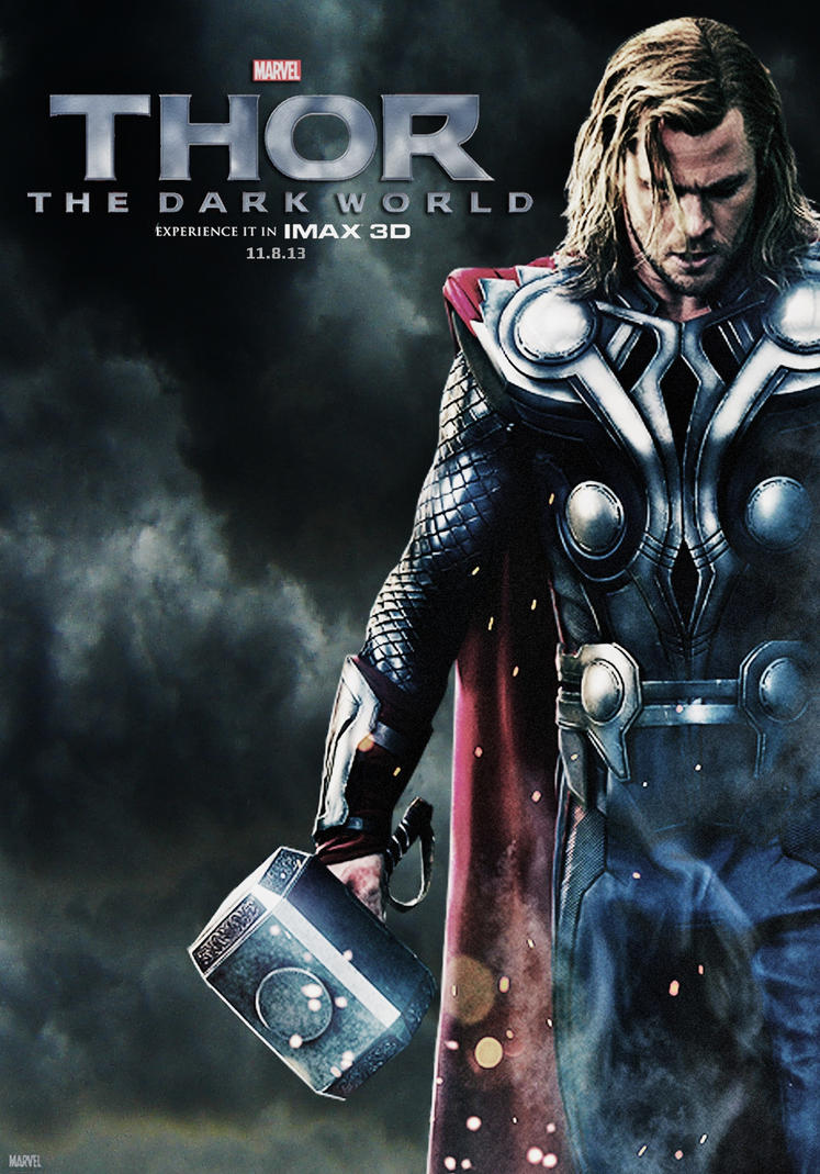 thor: the dark world posterstephencanlas on deviantart
