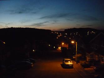 Streetlights Say Nevermind by Katmachine
