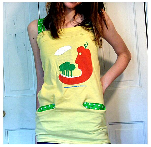 Veggie Shirt Reconstruction by deconstructedstars
