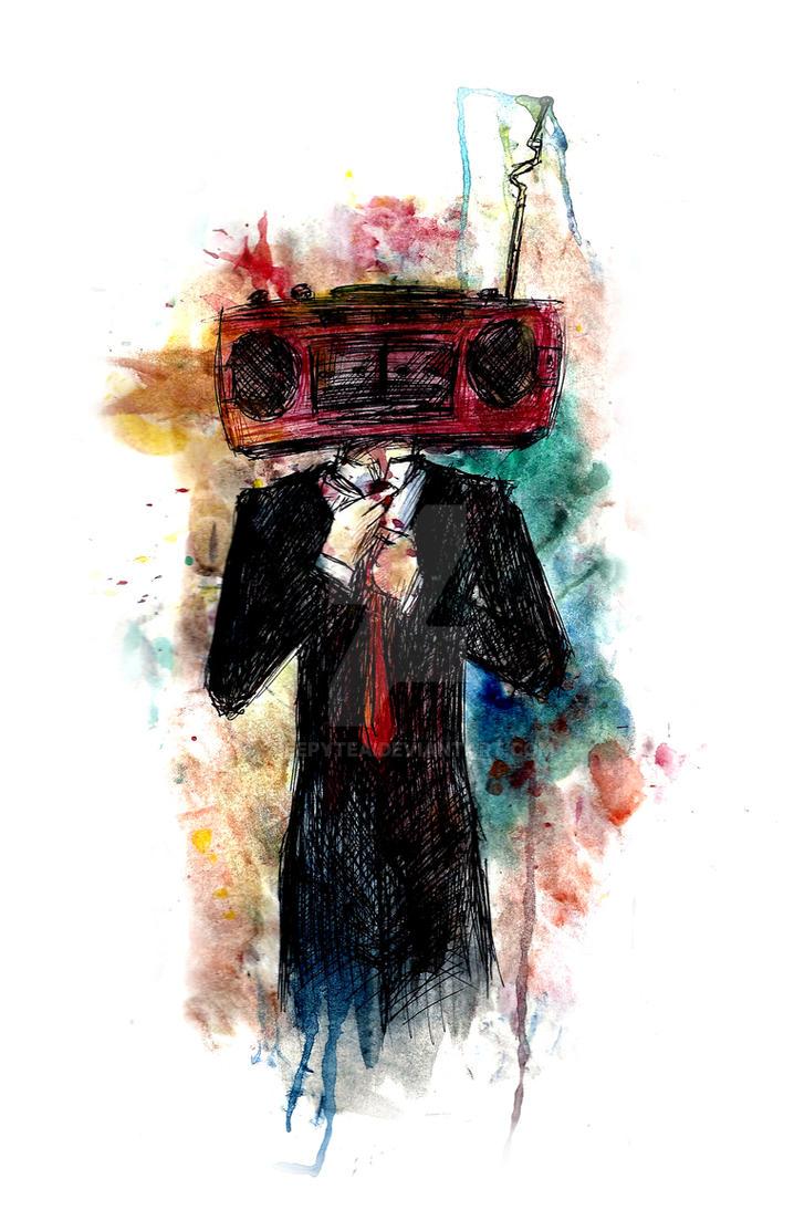 Radiohead by SleepyTea