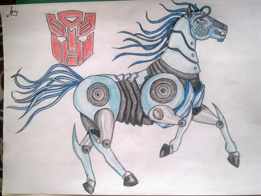 Deviantarts Robot Horse: Robot Horse. By Oriada On DeviantArt