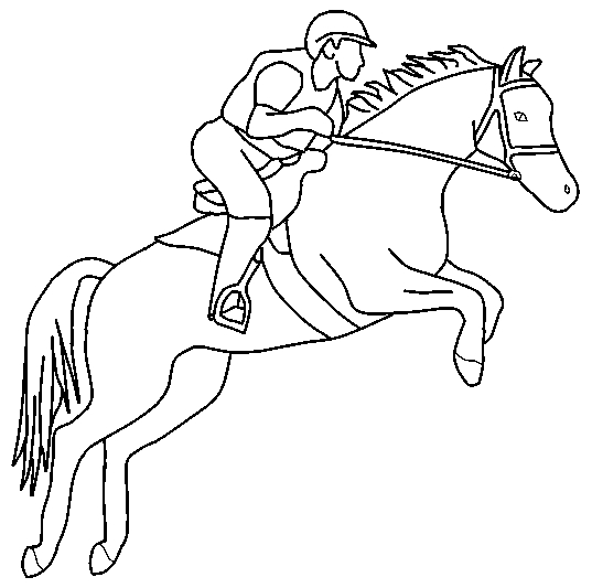 Line Drawing Jumper : Jumping horse line art by avery on deviantart