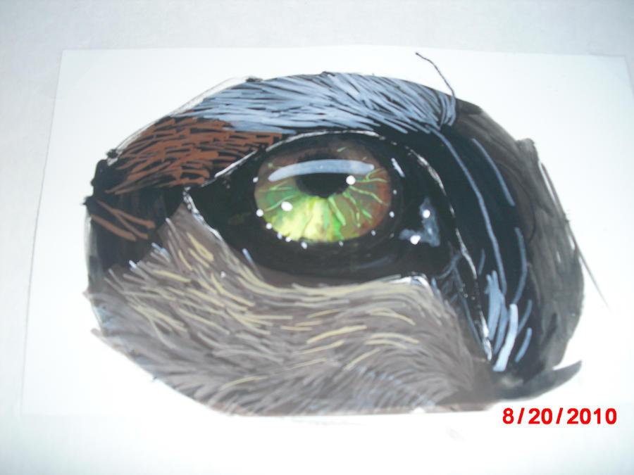 Watercolor animal eye by XBlackIce
