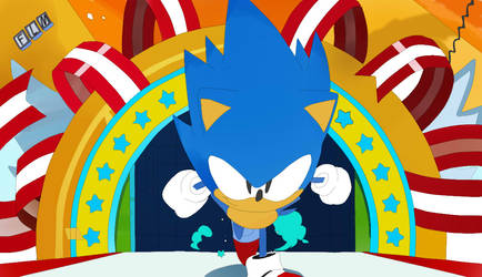 Sonic Mania by flamione