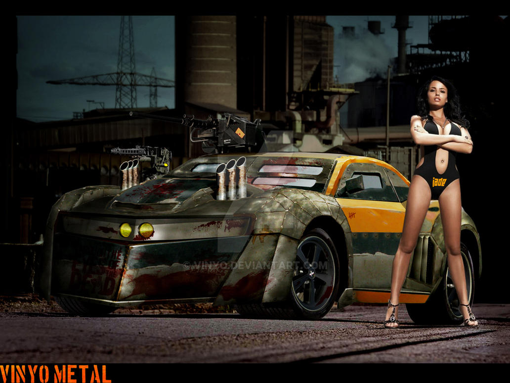 Chevrolet Camaro Death Race By Vinyo On Deviantart