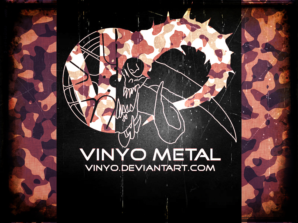 Vinyo Metal My first logo attempt by vinyo