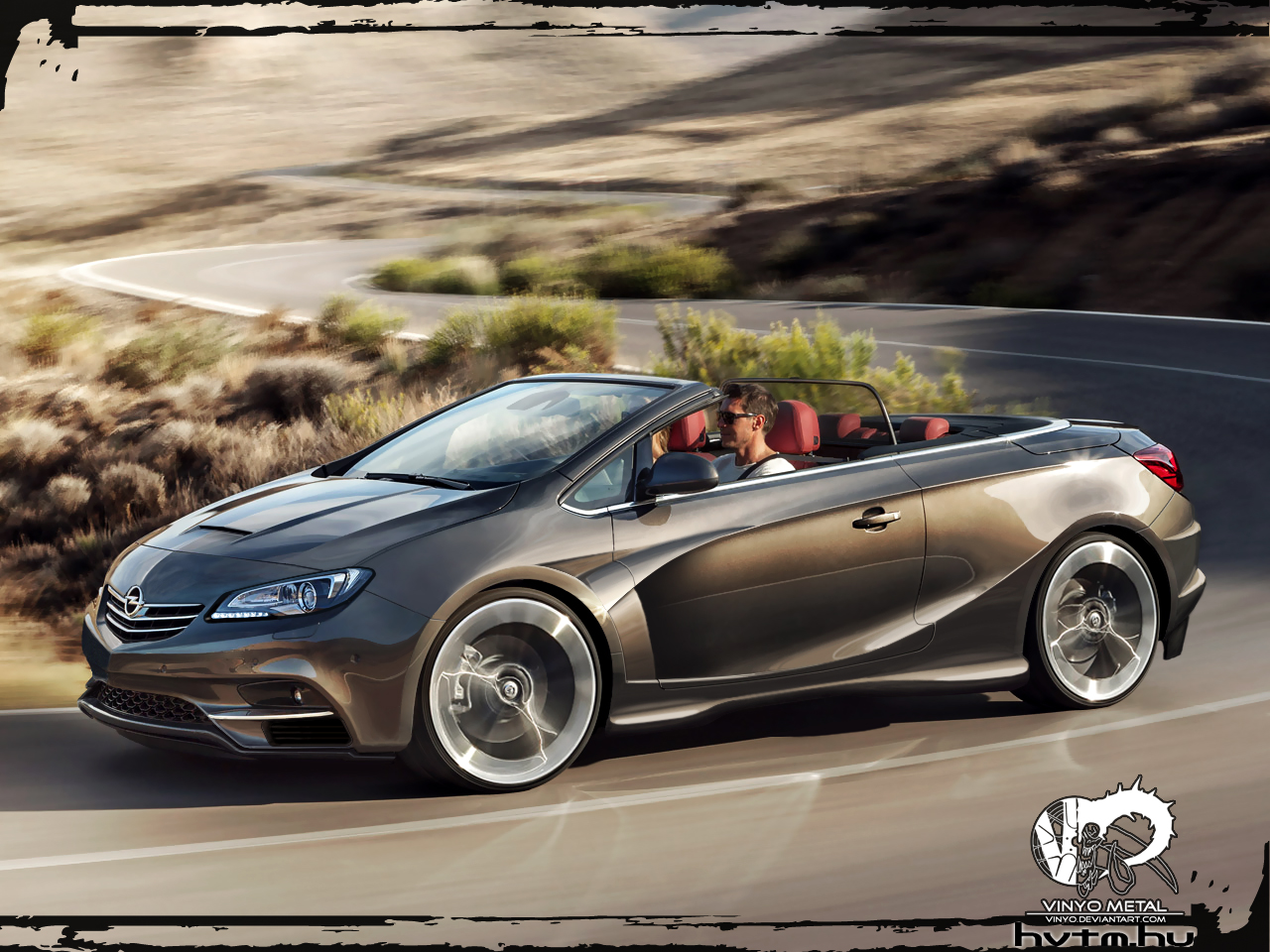 Opel Cascada Vm By Vinyo On Deviantart