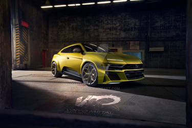 Lamborghini Urus Concept VMD 2019