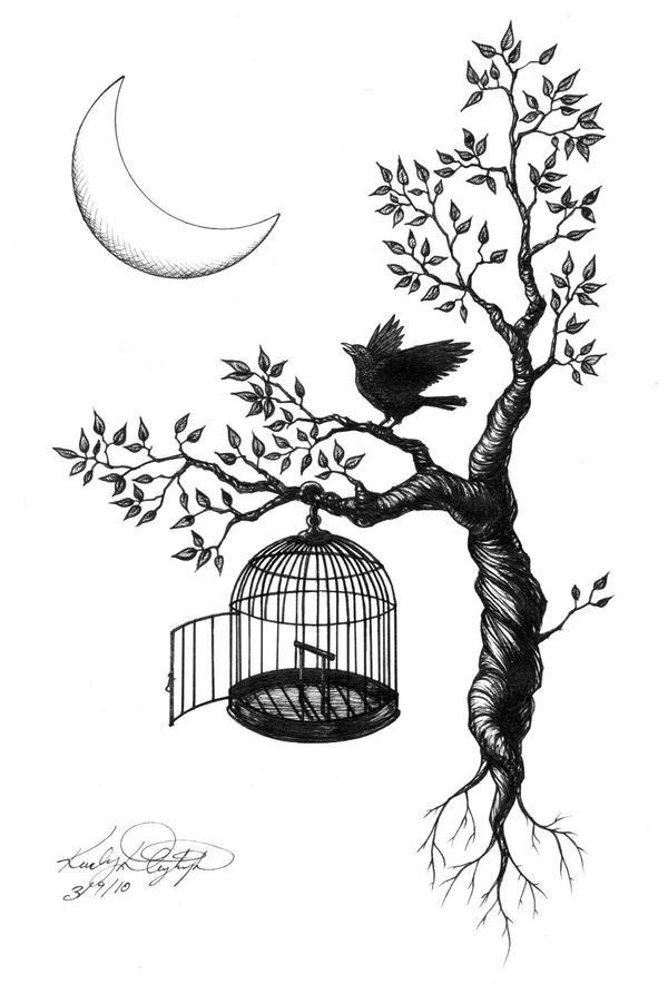 the beatles blackbird drawing. Black Bedroom Furniture Sets. Home Design Ideas