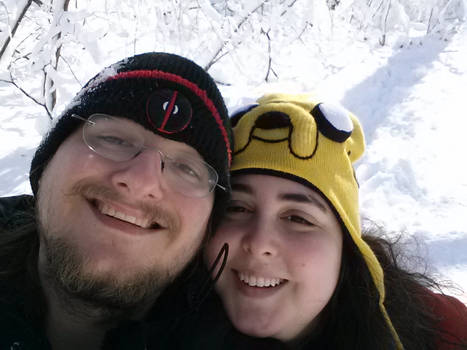 My fiance and me!