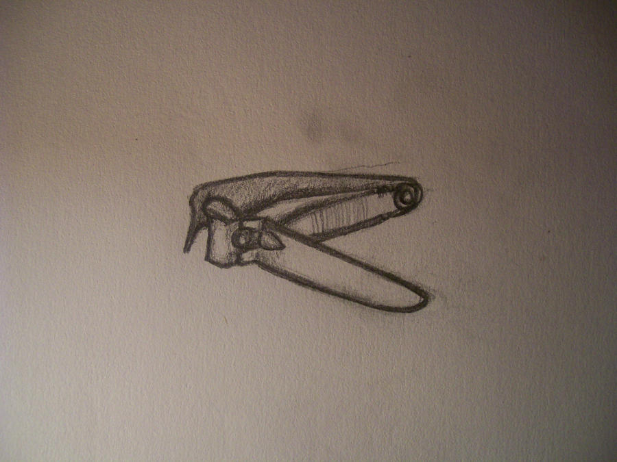 Daily Drawing #14 - Nail Clipper Observation by Bagi80 on ...