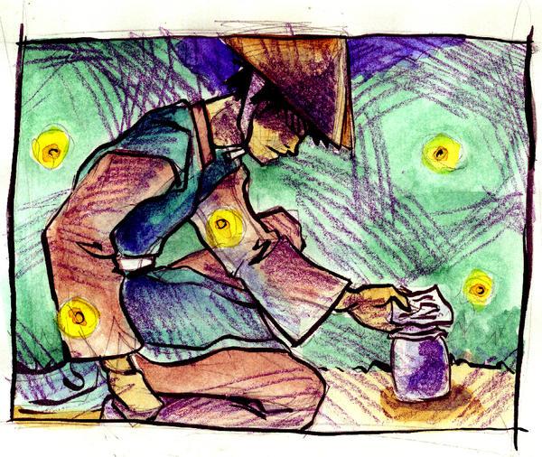 ATLA: Zuko and Fireflies by aqua-relle