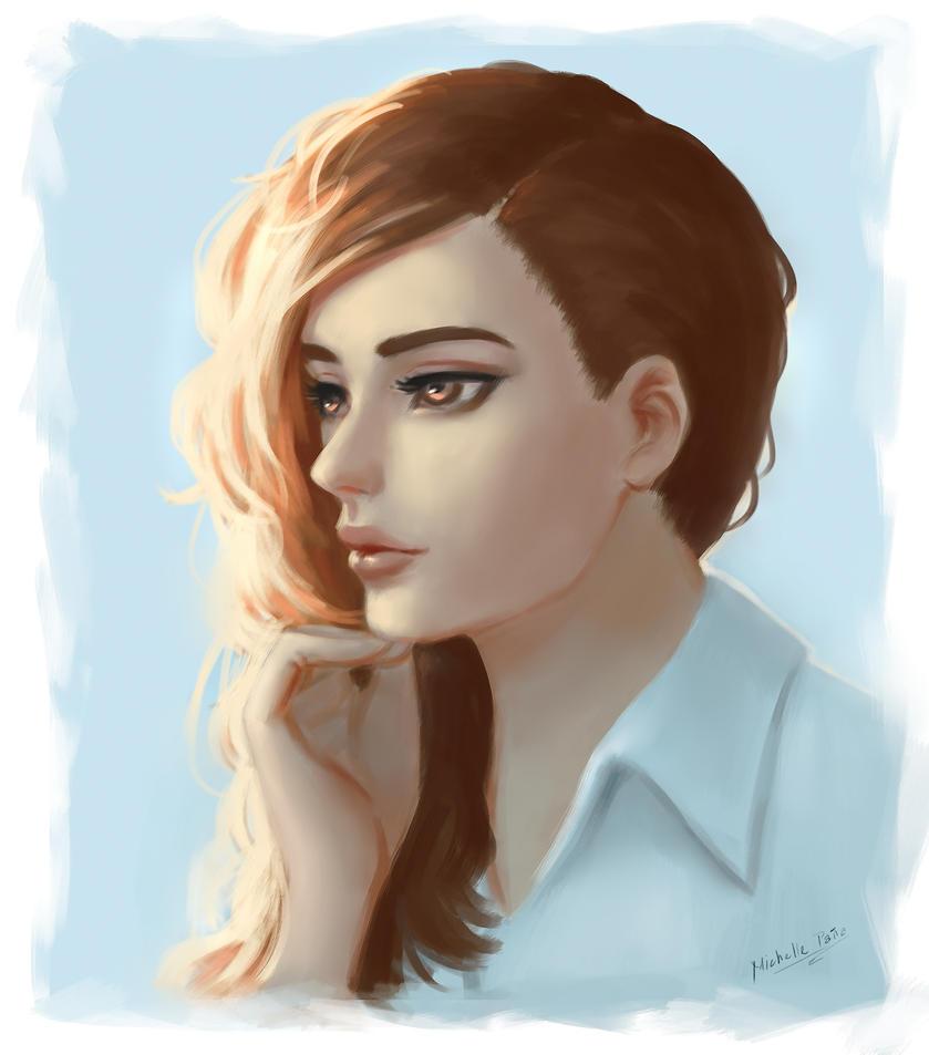 Portrait by Tra-la-laaa