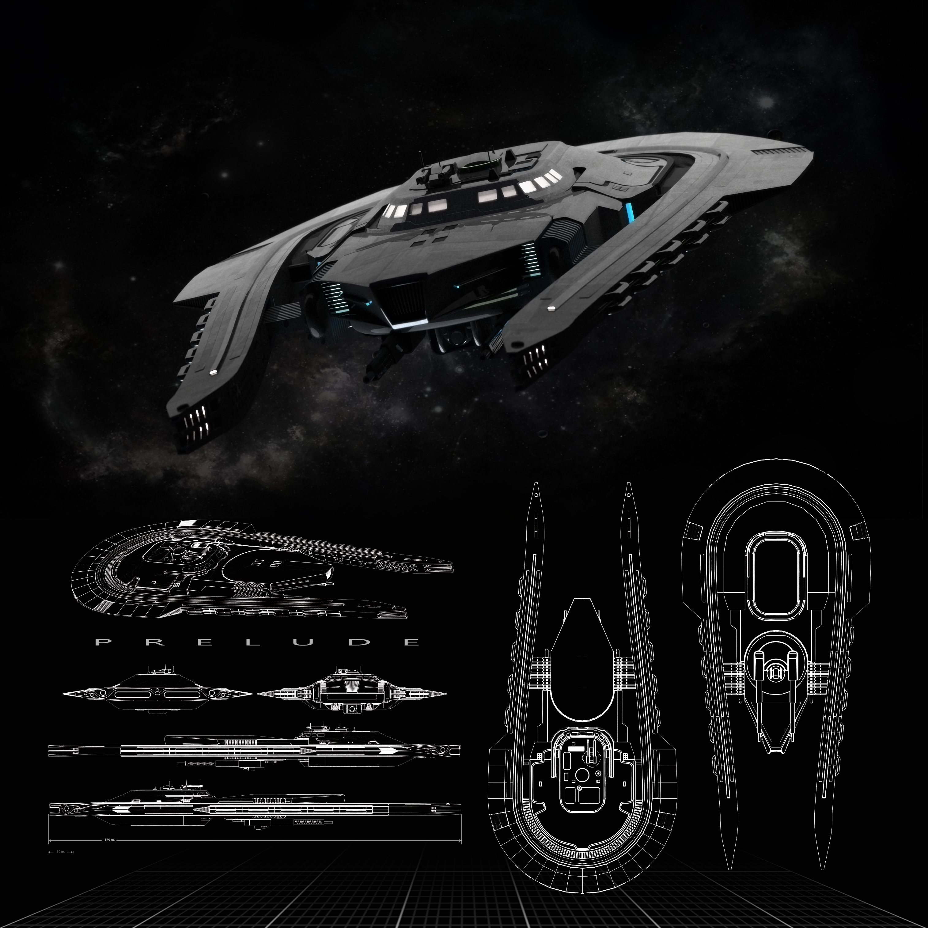 Prelude Scout Ship By Vatzily On Deviantart