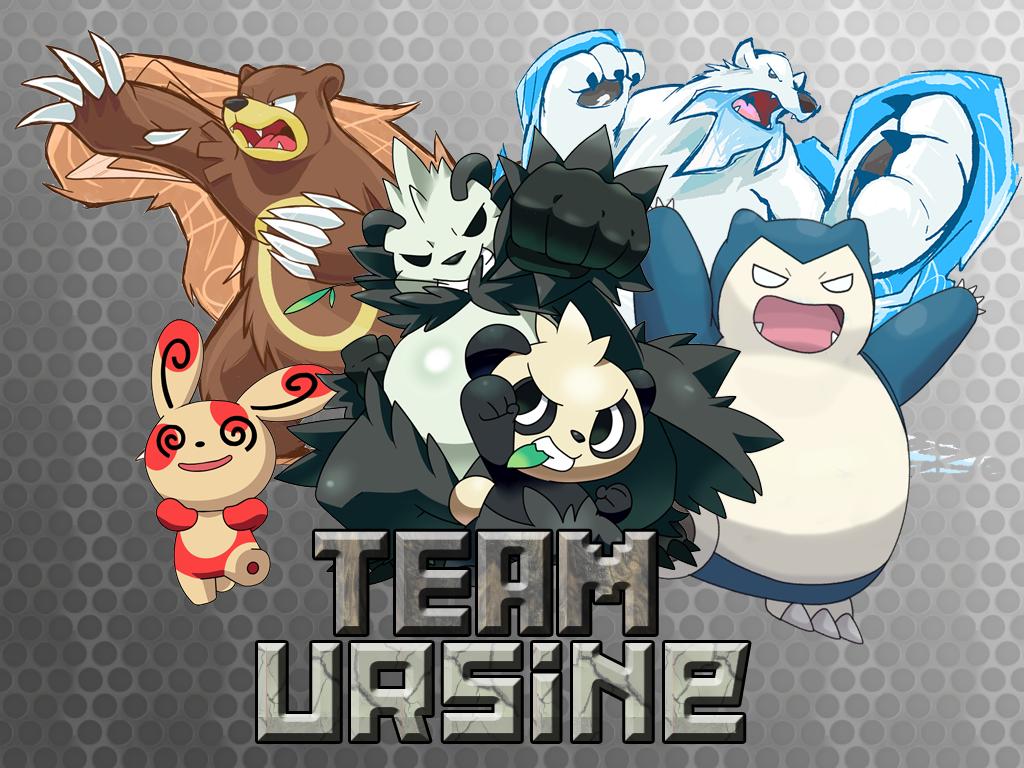 Team Ursine - Pokemon WallPaper by Drayle88
