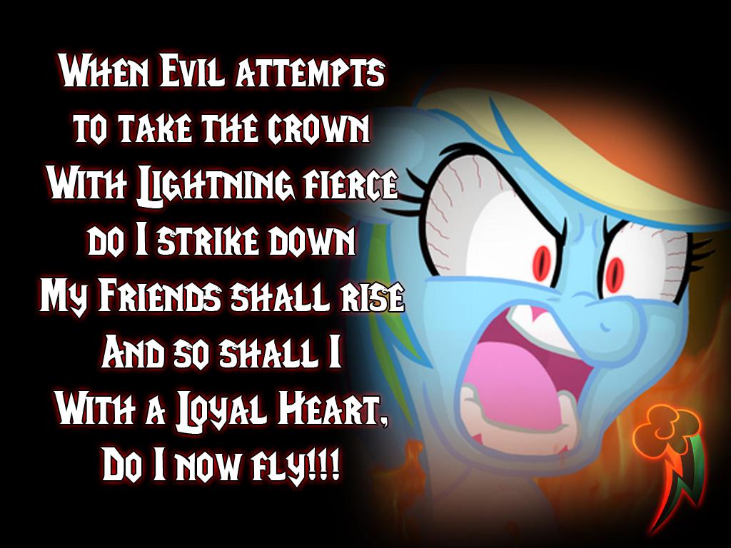 Pony Lantern Corp - Rainbow Loyalty Lantern by Drayle88