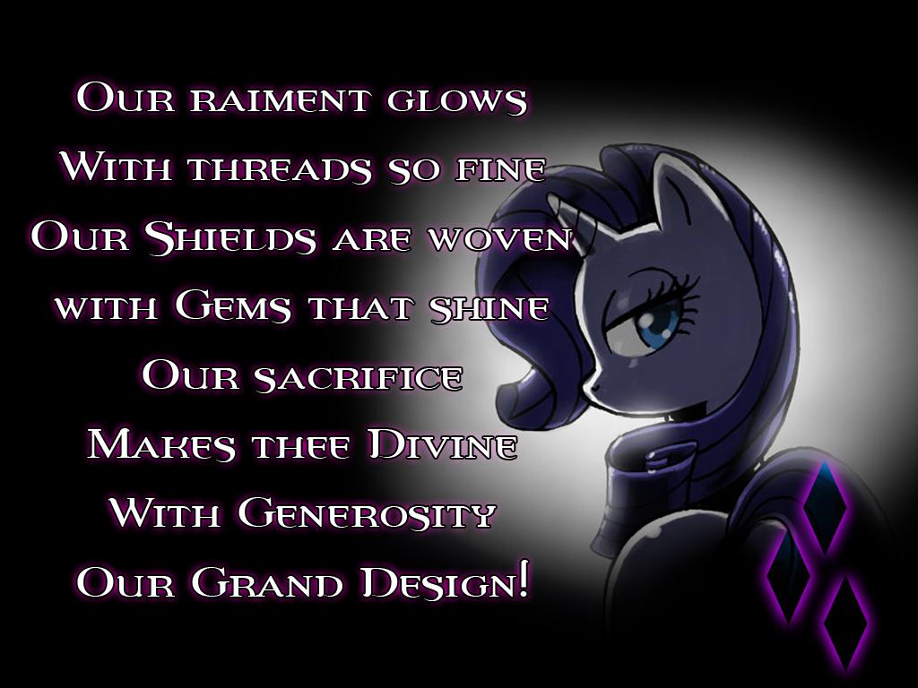 Pony Lantern Corp - Rarity Generosity Lantern by Drayle88