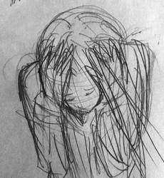 sketch from the manga 'Monster' by Pirasenshi