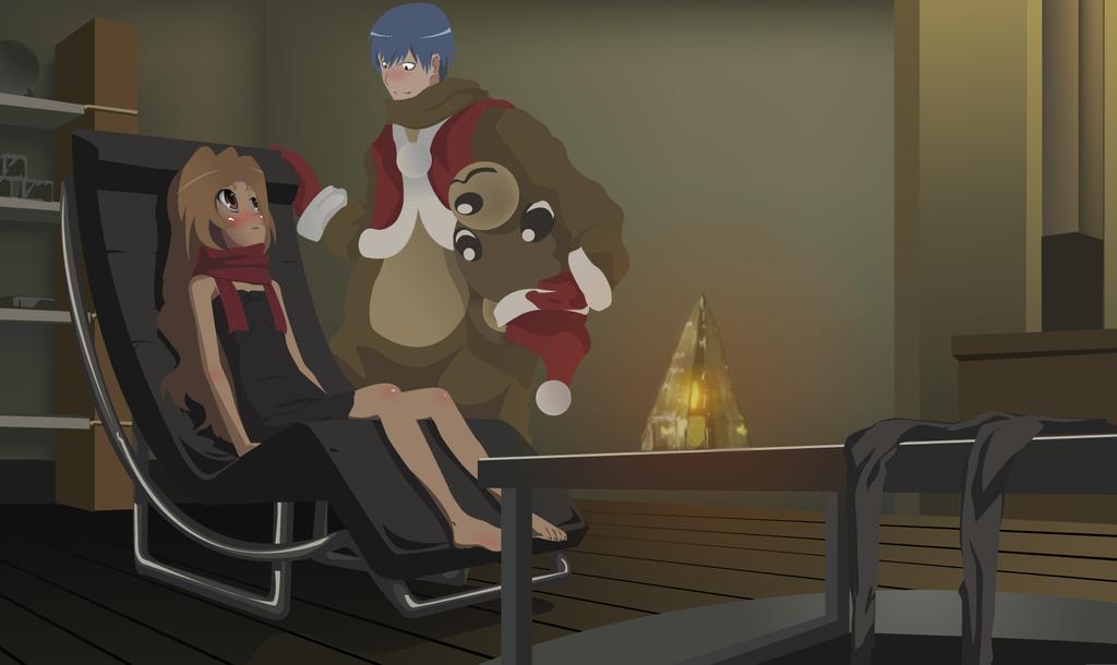 Toradora Christmas Eve by rustyrayz on DeviantArt