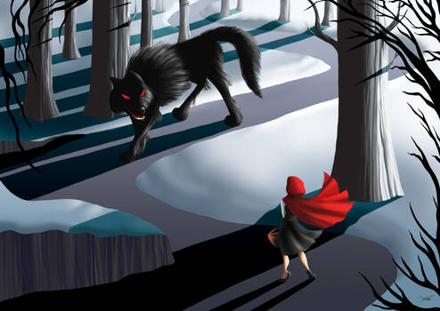 Meeting the wolf...