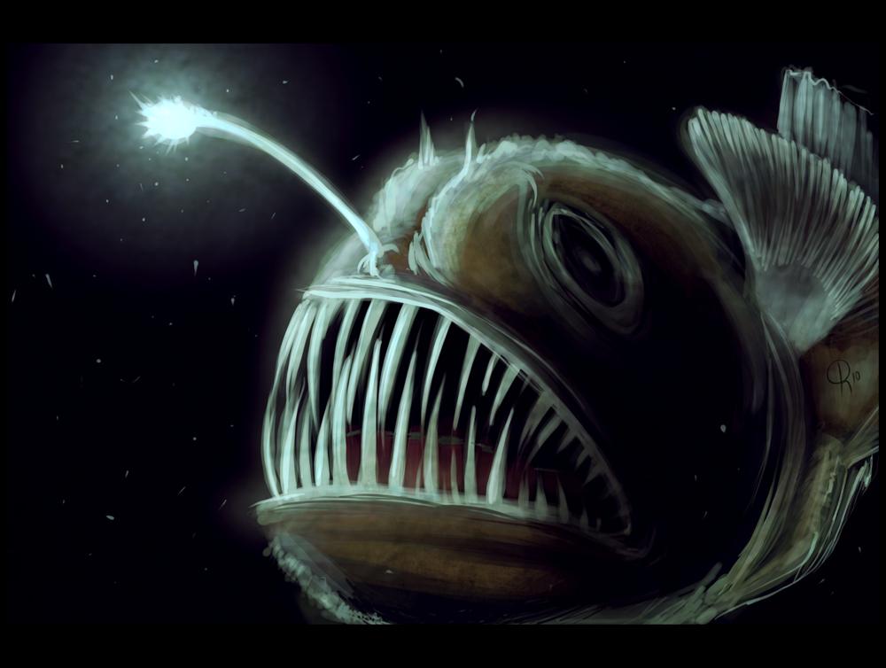 A bit of art september 2011 for Green monster fishing light