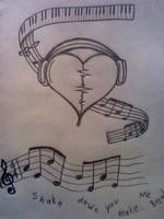 music tattoos by Fritts839