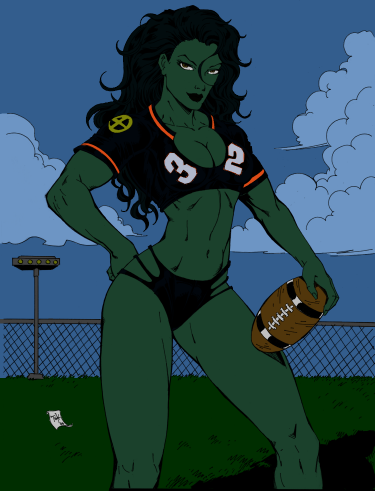 She-Hulk - Preview by RBL-M1A2Tanker