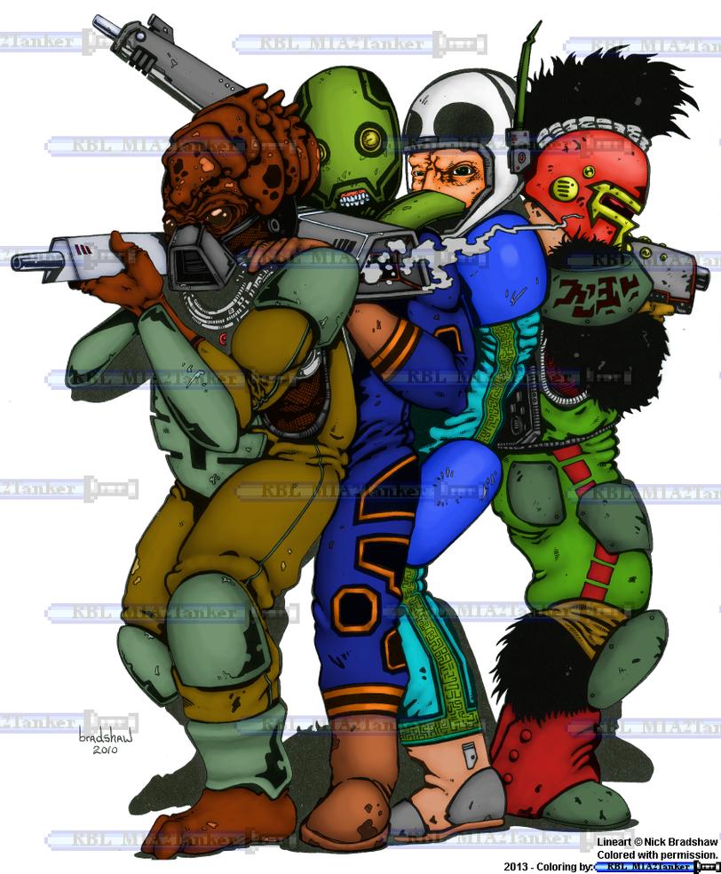 Squad Coloring - Nick Bradshaw by RBL-M1A2Tanker