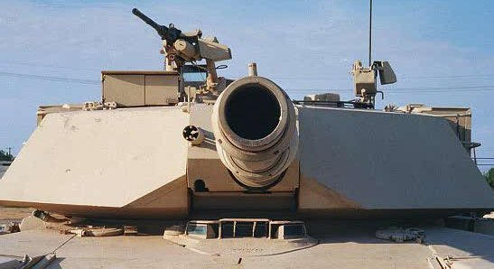 M1 Heavy Armor Variant - Front by RBL-M1A2Tanker