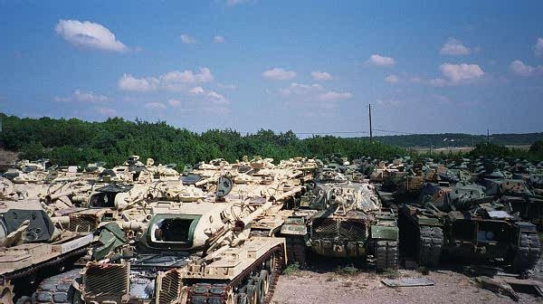M60 Graveyard by RBL-M1A2Tanker