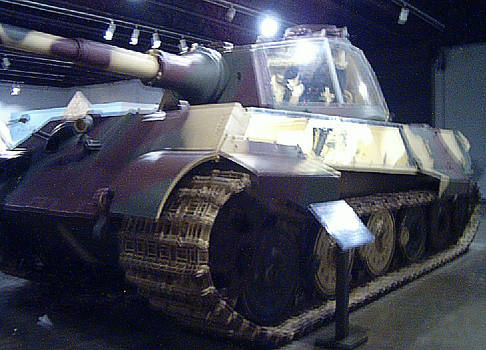 German Tiger II -Oblique Front