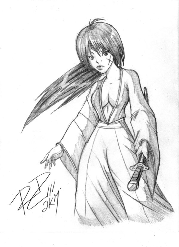 TGKenshin sketch by Robaato by RBL-M1A2Tanker