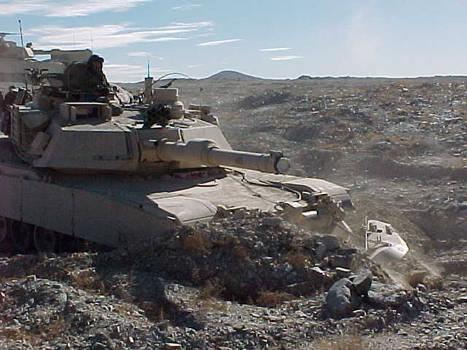 Alpha 23 - M1A2 Mineplow 1