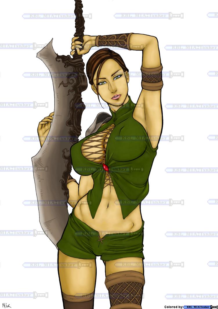 MKfan13 Cmsn - Forest Priestess by RBL-M1A2Tanker
