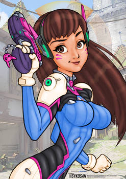 Sykosan Color Contest - D.Va Entry
