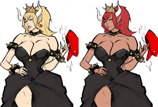 Bowsette by Mrlacseul-Colored