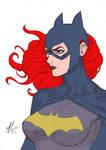 Dye-cember-2018 Challenge 3 - Batgirl