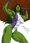 Dye-cember-2019 Challenge 7 - She-Hulk