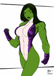 Dye-cember Challenge 2 - She-Hulk