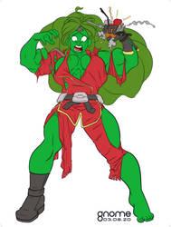 Dye-cember Challenge 2020 9 - She-Hulk Janus Acken