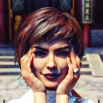 Glamour Pose 4a by MYDART-CO