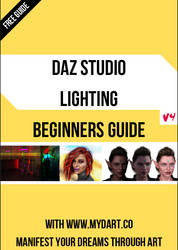 Daz Studio Lighting Beginners Guide by MYDART-CO