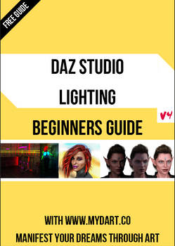 Daz Studio Lighting Beginners Guide