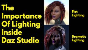 The Importance of Lighting Inside Daz Studio